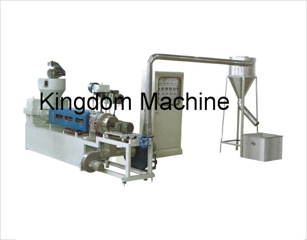 Wind Cooling Polyethylene Recycling Machine