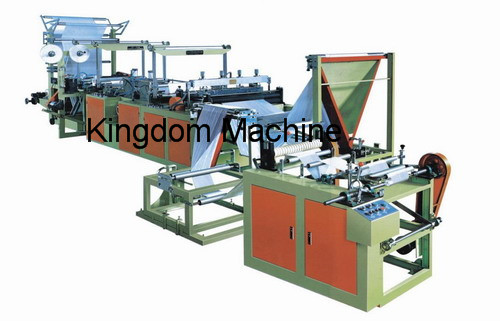 Plastic Rolling Garbage Bag Machine